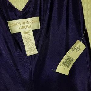 Women's Purple sparkle Jones New York Dress